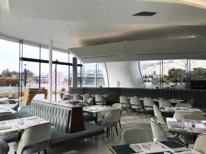restaurant at Swarovski crystal worlds