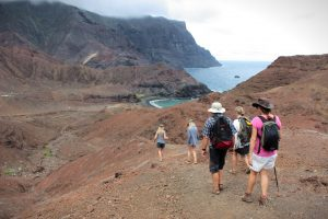 Shark's valley in St Helena
