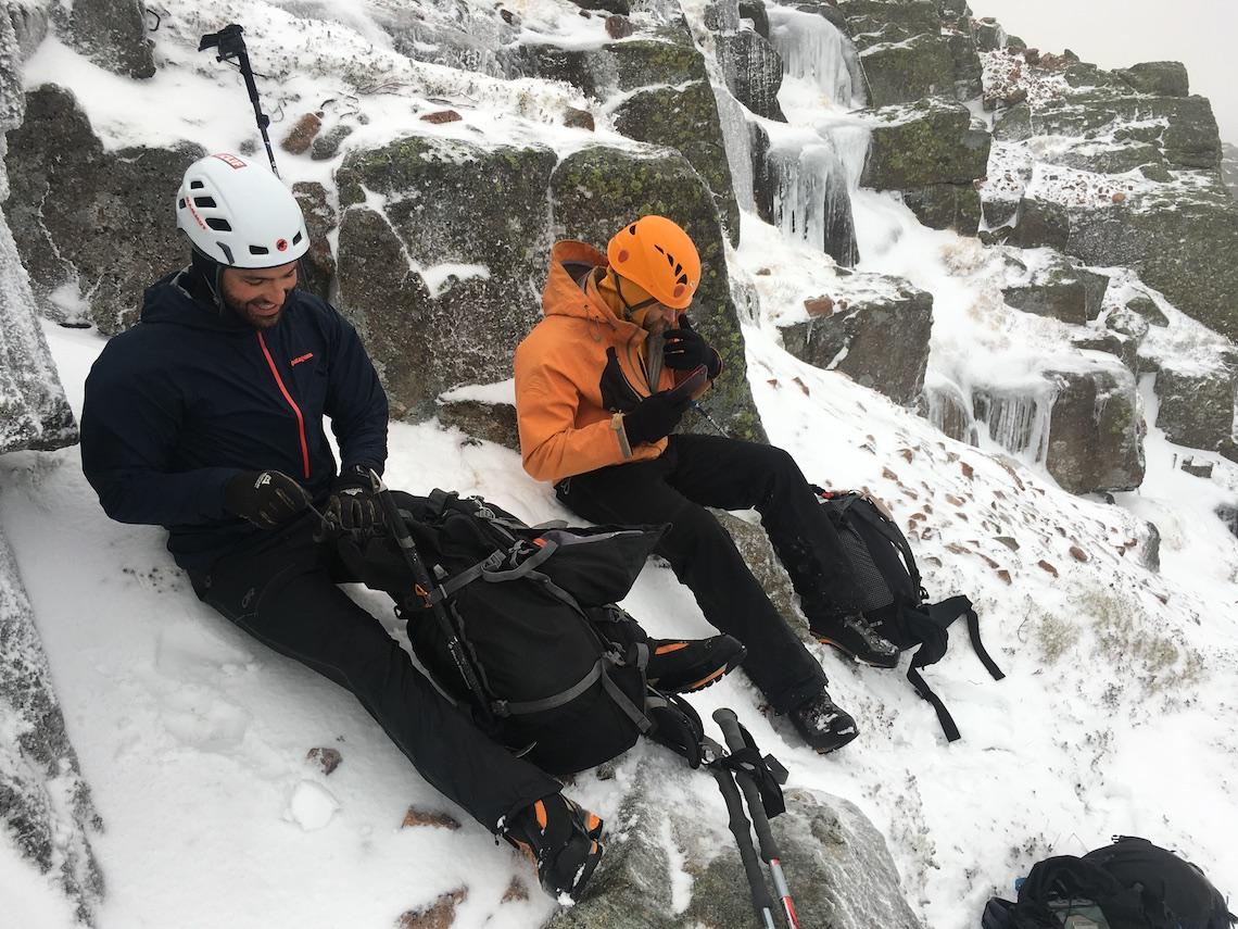 Glen coe winter adventure preparation