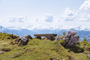 Kitzbuheler horn panoramic view