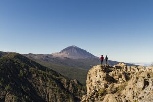 View over mount teide