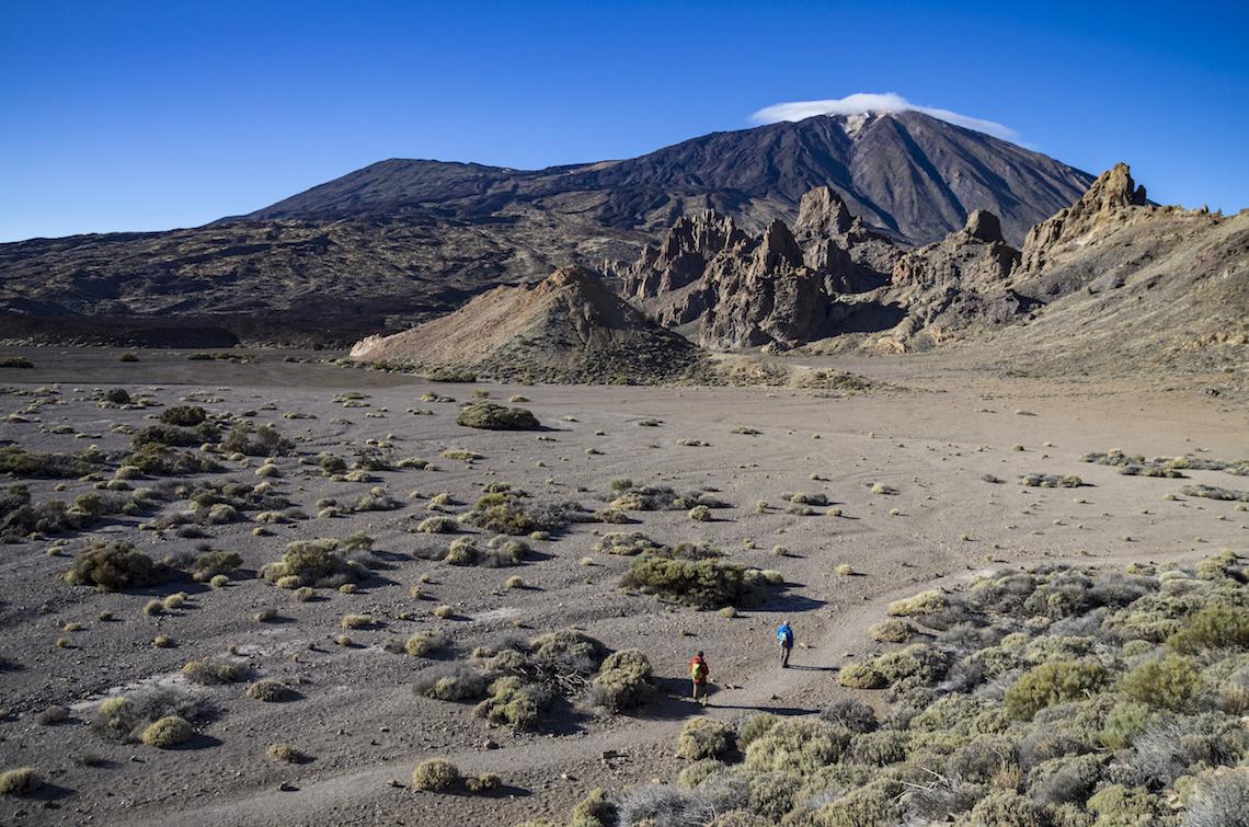 lunar landscapes of vilaflor - best hikes in Tenerife