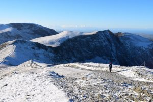 Views of Hobcarton Crag from Grisedale Pike (1)