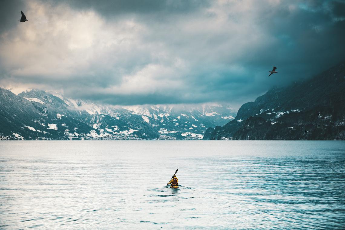 Switzerland winter adventure