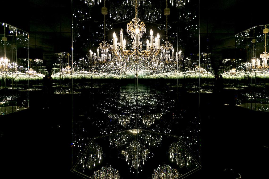 Chandelier of Grief - Swarovski Crystal Worlds