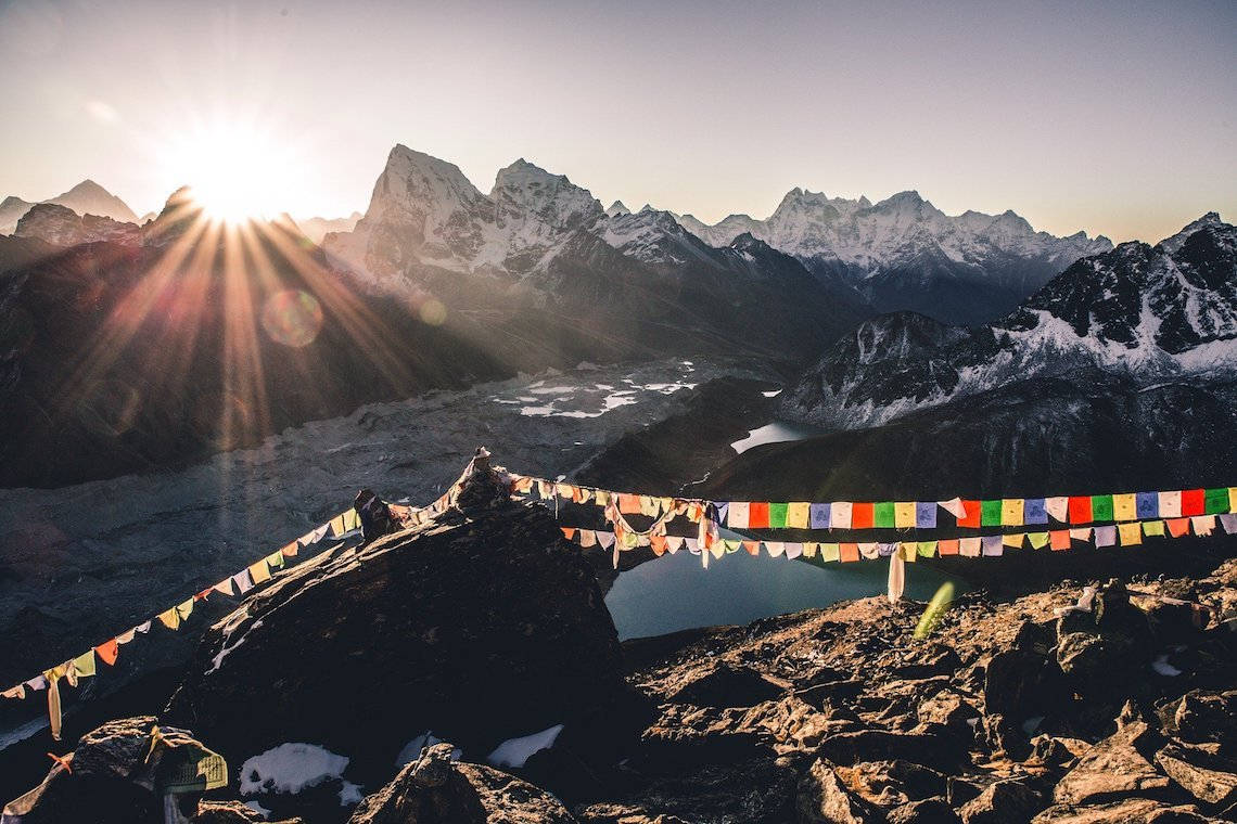 best views of Everest from Gokyo Ri