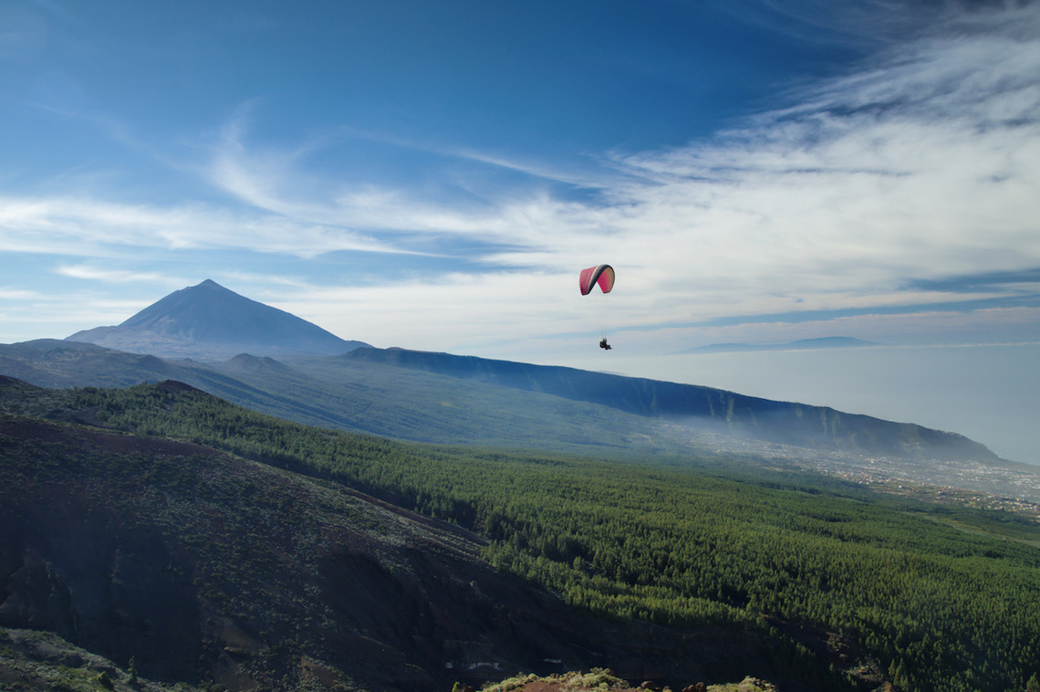 incredible paragliding best things to do in Tenerife
