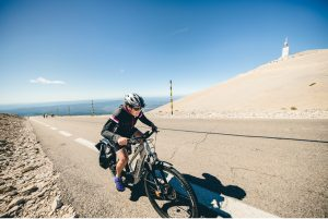 Cycling the Mont Ventoux
