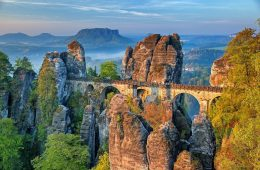 Saxon Switzerland national Park - most beautiful national parks in Europe