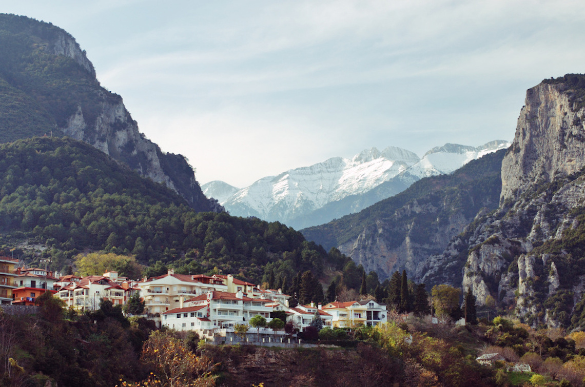 Mount Olympus National Park beautiful national parks in europe
