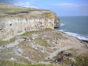 Dancing Ledge in Dorset best climbing routes for beginners in the UK