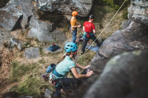 best climbing routes for beginners in the UK montane x BMC