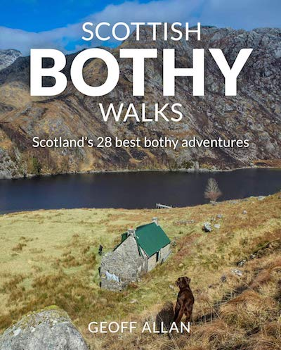 Scottish Bothy walks - best adventure Travel Books