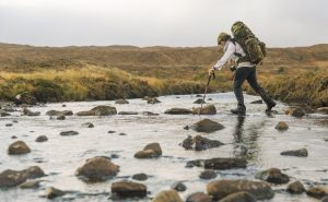 A river crossing on the Skye Trail