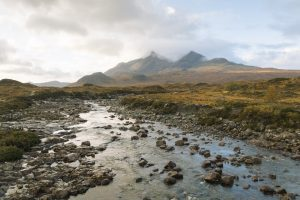 Rugged views on the Skye Trail