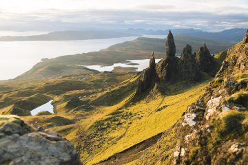 The Skye Trail Old Man of Storr