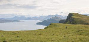 Coastal section Skye Trail