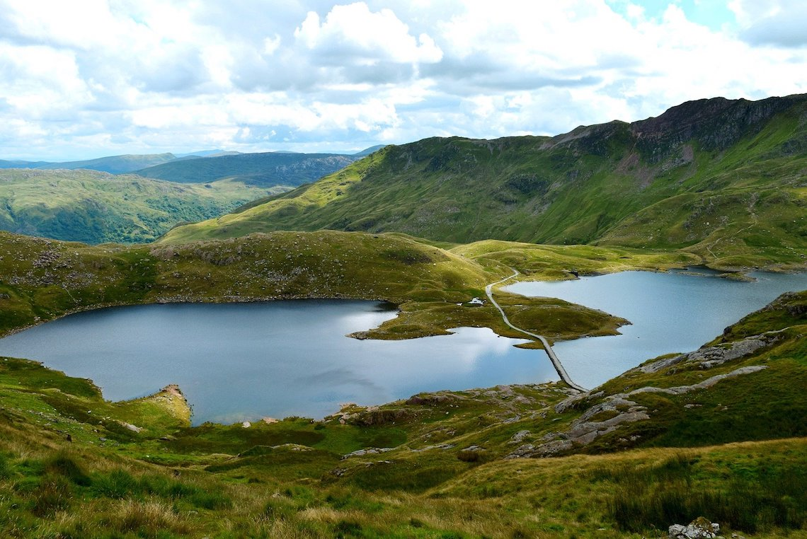 Snowdonia National Park - beautiful national parks in europe