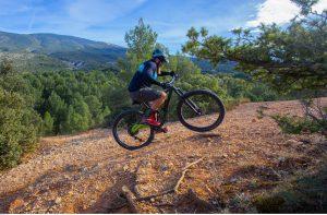 Mountain biking on Mont Ventoux