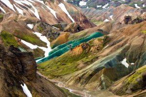 Fjallabak Nature Reserve Landscape