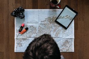Trip planning adventures to have at home