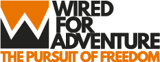 Wired For Adventure logo