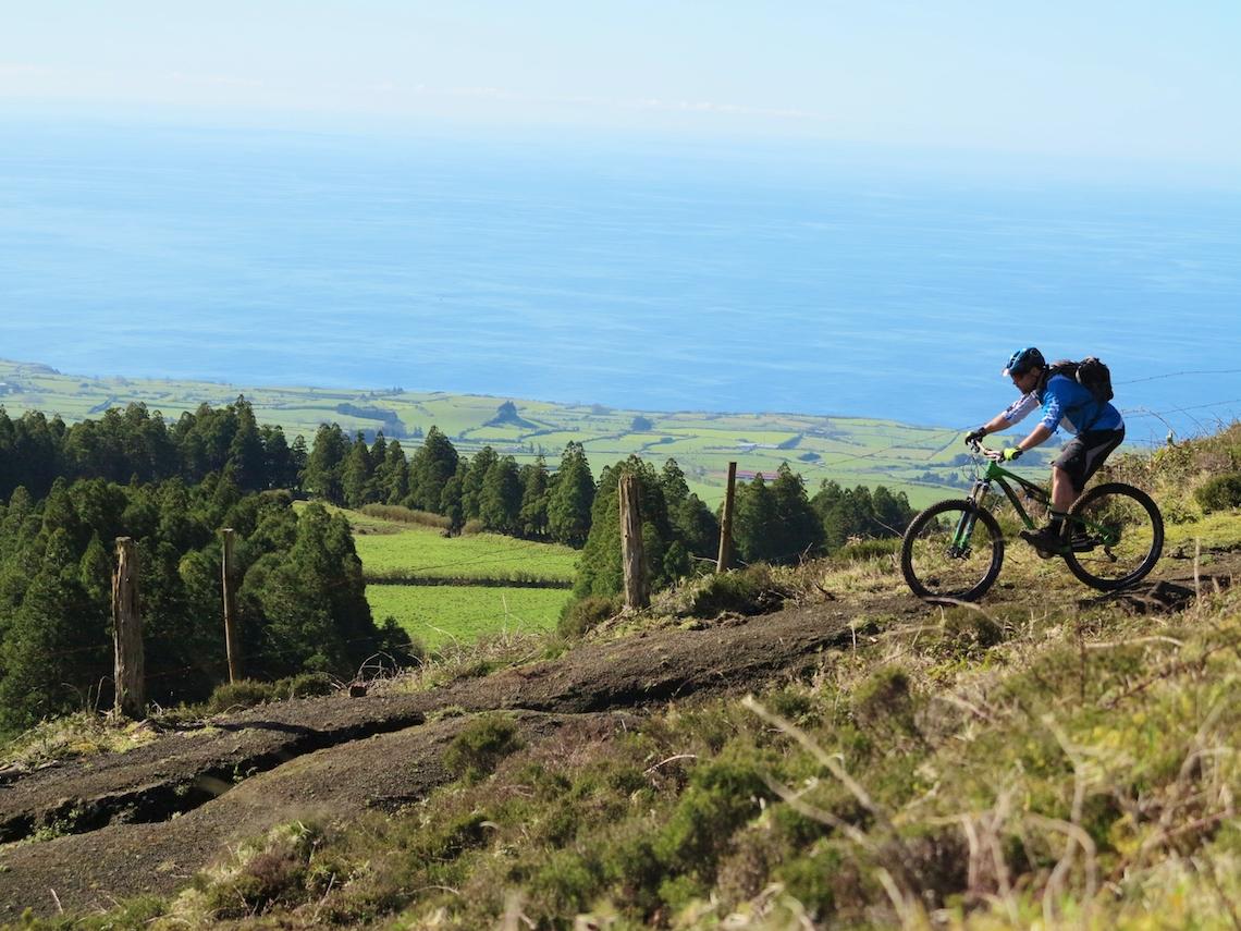 mountain biking azores