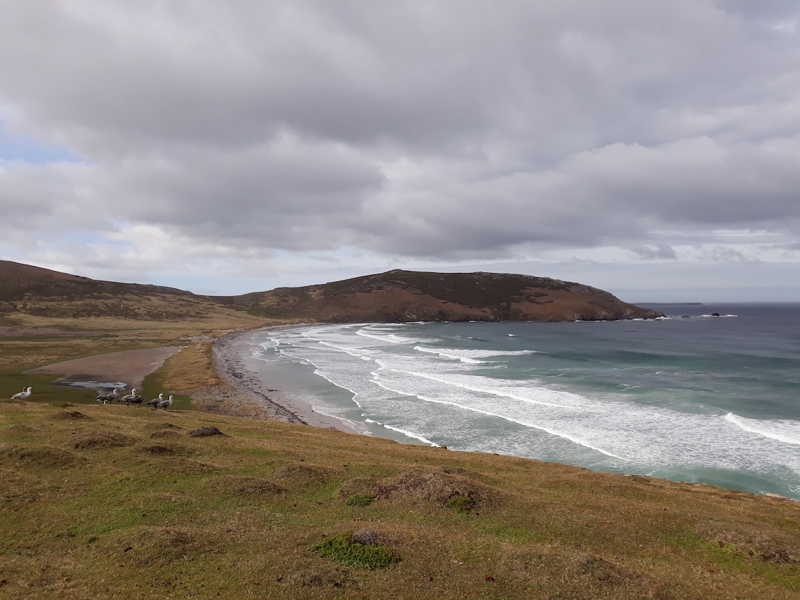 hikes in the falklands