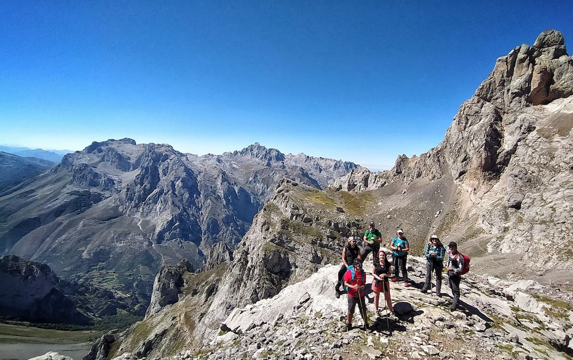 hiking holiday picos de europa