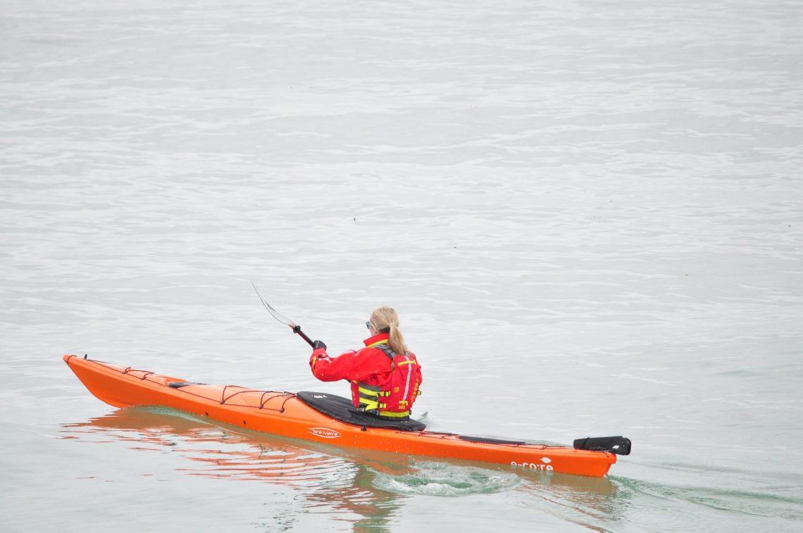 Sea kayak Falklands