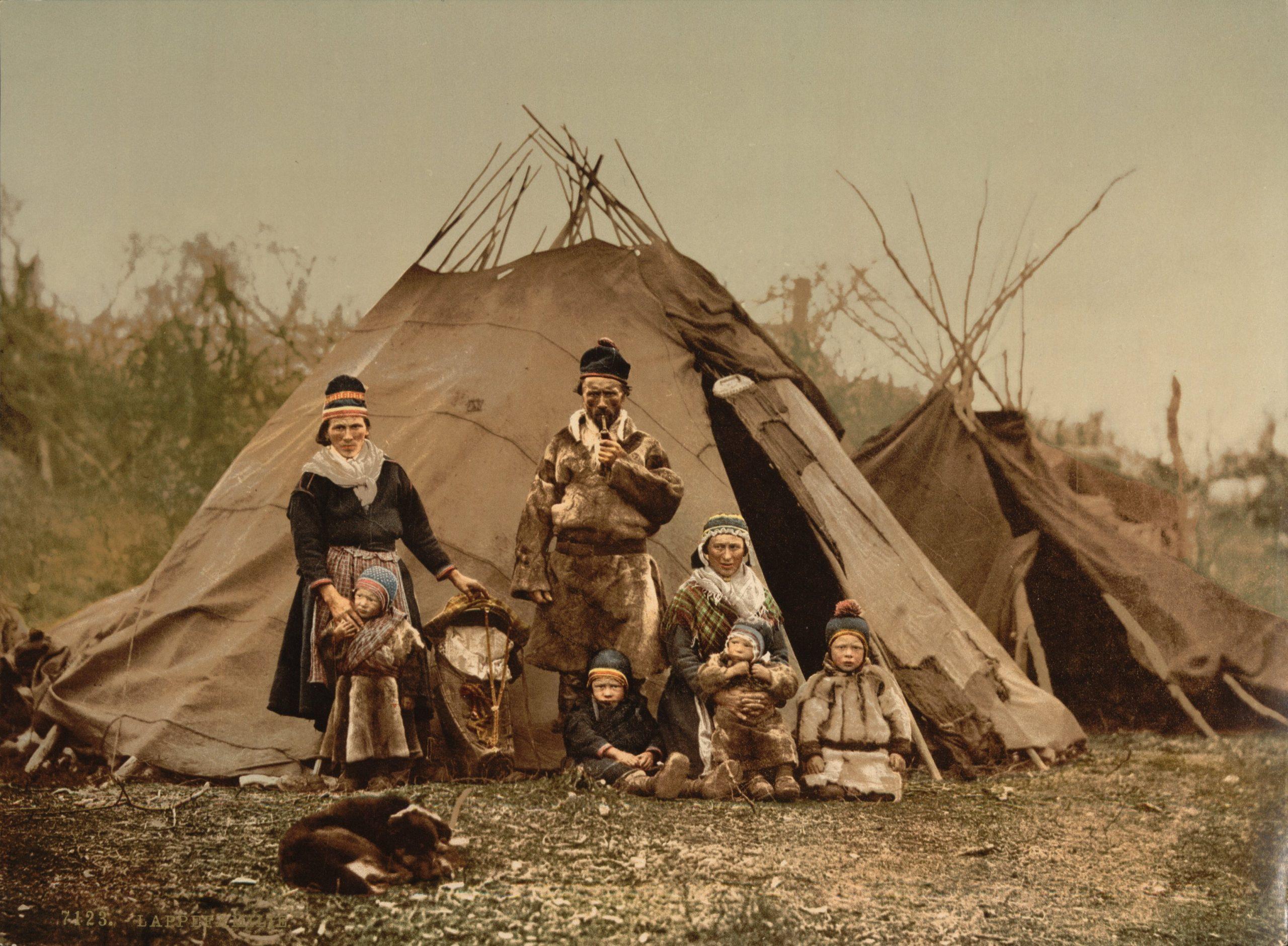 Tipi Saami family