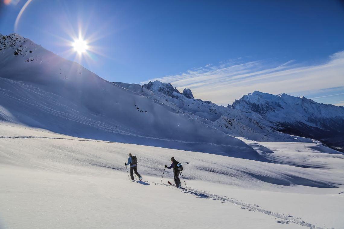 Chamonix-Ski-de-Randonnee-Le-Tour-Balme