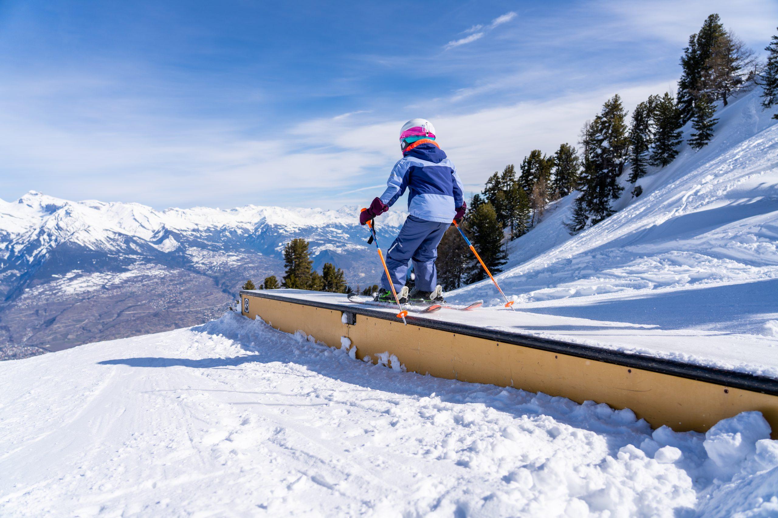 Nendaz winter ski fun park