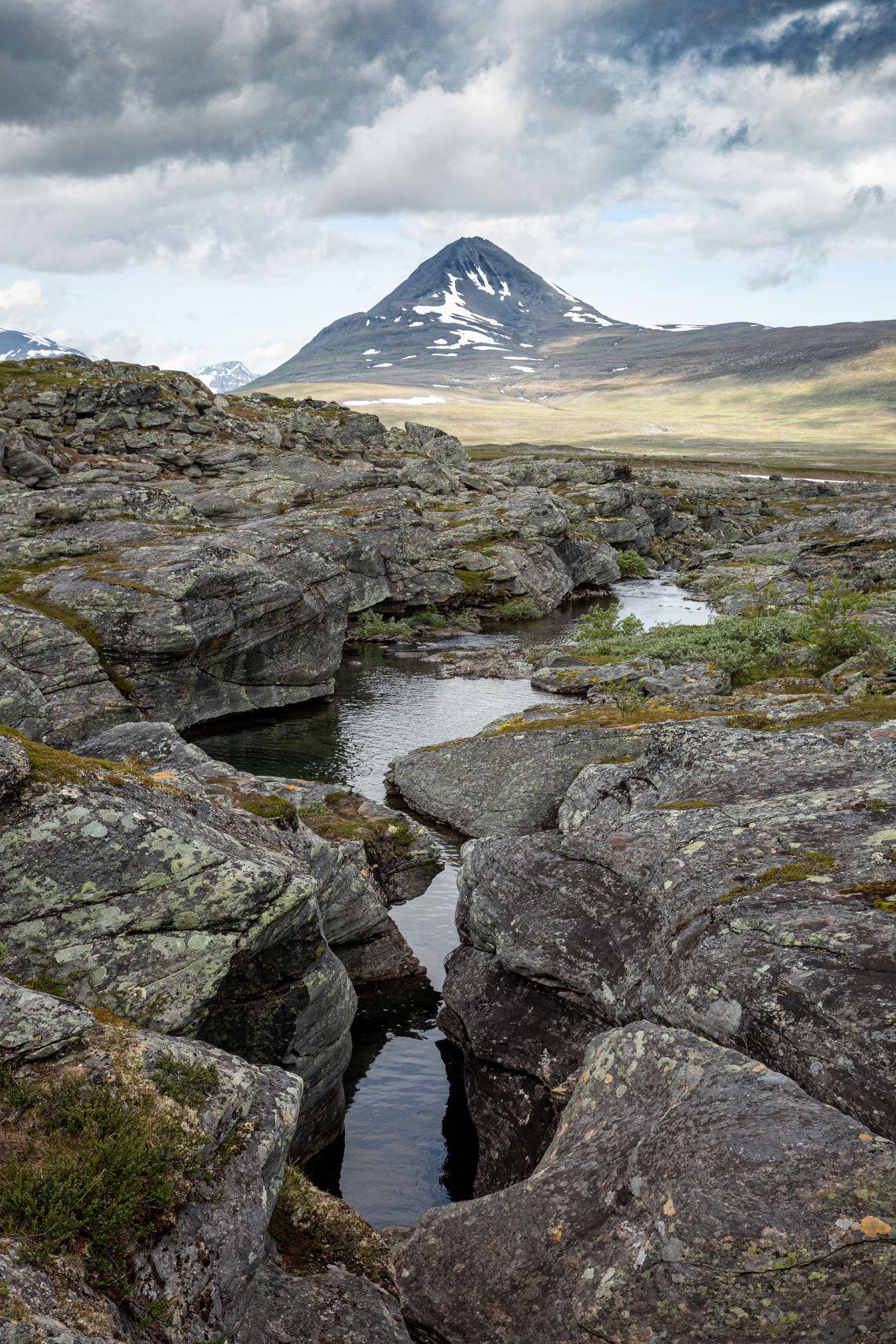 Scandinavia-Swedish-Norwegian-border-mountains