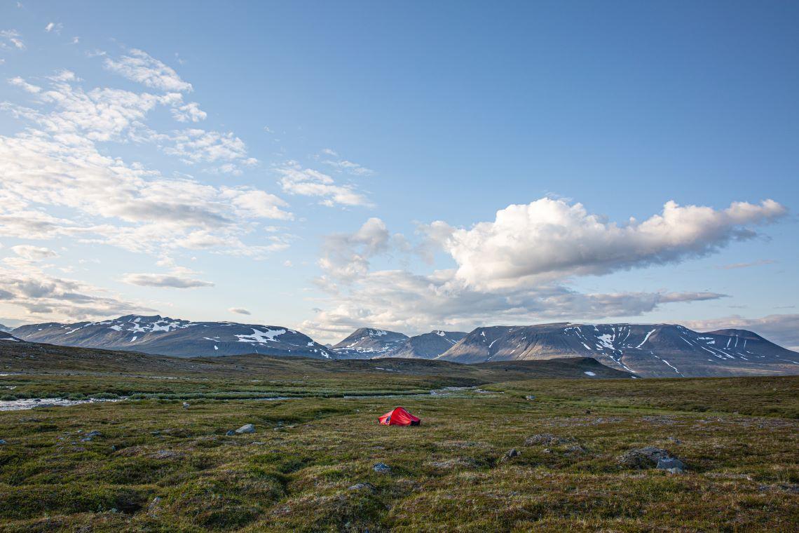 Scandinavia-tundra-tent-camping