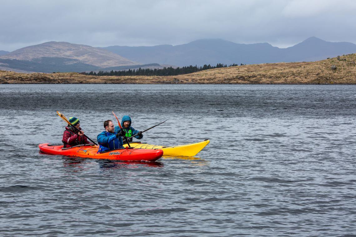 Group Kayak Ireland