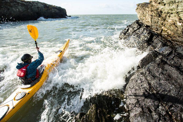 Kayaking sea